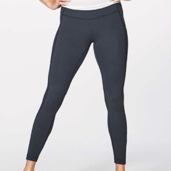 681d161444 lululemon athletica Pants | Nwt Lululemon Speed Tight V Melanite Sz ...